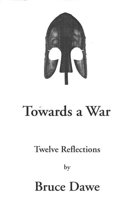 Towards a War by Bruce Dawe