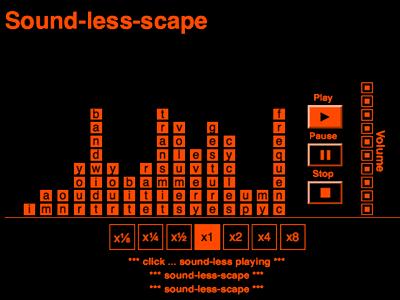 Sound-less-scape
