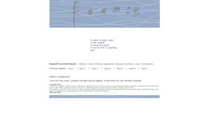 A screenshot from the foam:e website taken on 25 November 2011
