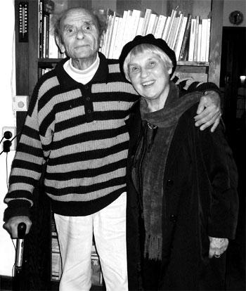 Dimitris Tsaloumas and Antigone Kefala