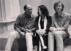 Daniel Carter, Anne Waldmann and Thurston Moore