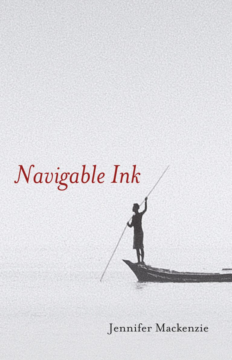 The front cover of Navigable Ink by Jennifer Mackenzie.