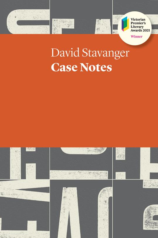 The front cover of Case Notes by David Stavanger.